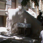 Muzeul Antipa - aspecte din timpul lucrărilor