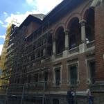 Muzeul Ţăranului Român - aspecte din timpul lucrărilor
