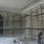 Muzeul Ţăranului Român - aspecte din timpul lucrărilor (august 2016)