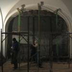 Muzeul Ţăranului Român - aspecte din timpul lucrărilor (octombrie 2016)