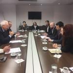 Întrevederea Ministrului Culturii și Identității Naționale, domnul Ioan VULPESCU cu domnul Rolf WENZEL, Guvernator al Băncii de Dezvoltare a Consiliului Europei