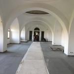 Muzeul Ţăranului Român - aspecte din timpul lucrărilor (august 2017)