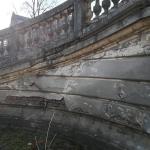 "Palatul ""Cantacuzino"" - exterior inainte de restaurare"