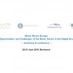 Muzica mișcă Europa - Oportunități și provocări ale sectorului muzicii în epoca digitală