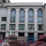 Muzeul Naţional de Artă al României – Palatul regal - aspecte din timpul lucrărilor
