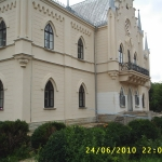 """Muzeul Memorial """"Al.I. Cuza"""" de la Ruginoasa - aspecte din timpul lucrărilor"""
