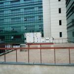 Biblioteca Naţională a României - aspecte din timpul lucrărilor