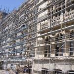 """Prima etapa a investitiei la Complexul Muzeal Naţional """"Moldova"""" Iași – Palatul Culturii - aspecte din timpul lucrărilor"""