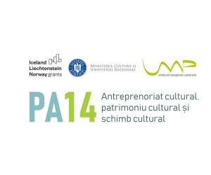 """Conferința de lansare a Programului PA14 """"Antreprenoriat cultural, patrimoniu cultural și schimb cultural"""" finanțat prin Granturile SEE 2014-2021"""
