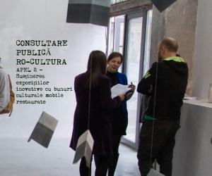 Anunţ privind publicarea spre consultare publică a Ghidului solicitantului pentru Apelul 2 – Susținerea expozițiilor inovative cu bunuri culturale mobile restaurate din cadrul Programului RO-CULTURA