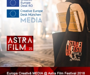 Europa Creativă MEDIA @ Astra Film Festival 2018