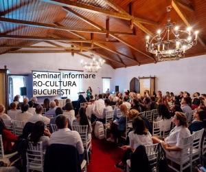 Seminar de informare organizat în cadrul RO-CULTURA – București