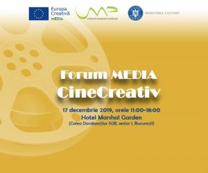 Forum MEDIA CineCreativ 2019
